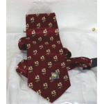 Christian Jesus Club Tie Pattern Flower