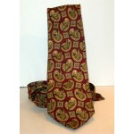 Sir Hunt Mallard patterned 100% SILK Brown TIE