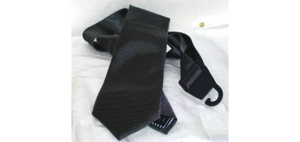 Nautica Black and white tiny checks Mens Tie