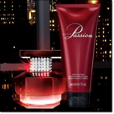 Passion Eau De Parfum Spray and Body Lotion