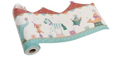 Kids Line Big Top Wallpaper Border