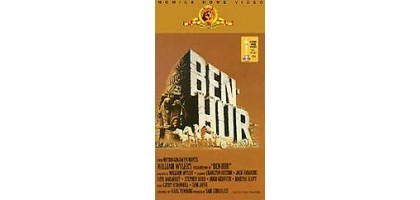 Ben-Hur VHS 2-Tape new Original version MGM