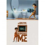 Despicable Me Sen Type Film clip Numbered Collectible Film Cell 3 Available