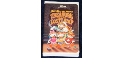 Disney The Movie: Treasure Of The Lost Lamp [VHS] (1990)