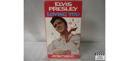 Loving You VHS  Elvis Presley, Lizabeth Scott
