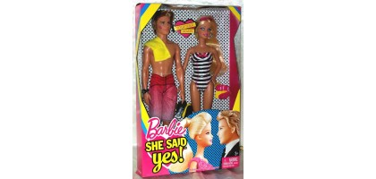 Barbie said Yes to Ken Doll New in Box