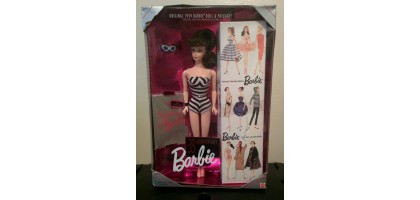 Barbie 35th Anniversary Doll Brunette ponytail Mattel 1993