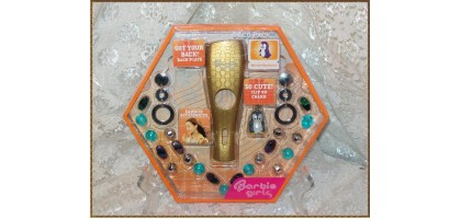 MP3 Barbie player Deco Pack Gold Cover Penguin