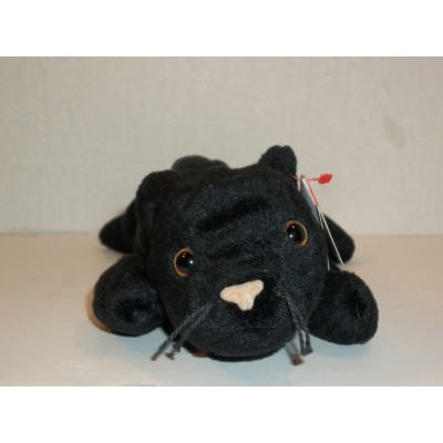 Original Ty Beanie Babies Velvet the Black Cat