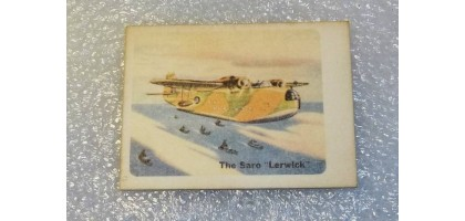 "Cracker jack prize #3 The Saro ""Lerwick"""