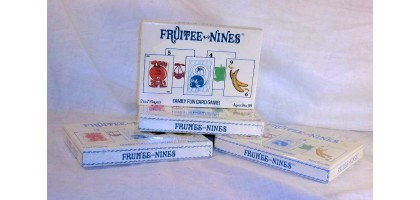 Fruitee Nines Family Fun Card Games 2 to 7 Players