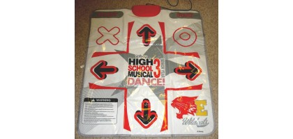 High School Musical 3 Dance Pad/Mat for the Playstation 2 (Mat Only) PS2
