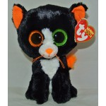 "Ty Beanie Boos Black Cat named Frights  2015 Halloween 6"" sized"