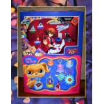 Yu-Gi-Oh! & The Littlest Pet Shop Mc Donalds Display