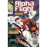 Alpha Flight 71 June Issue The resurection of the sorcerer