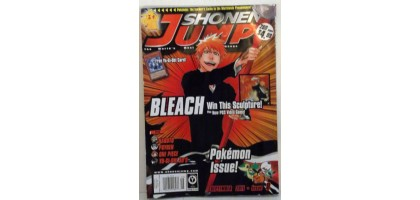 Shonen Jump Bleach and Pokemon September 2011 Issue 8
