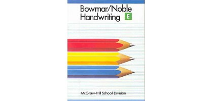 Bowmar / Noble Cursive Handwriting Book E Digital Delivery E-book