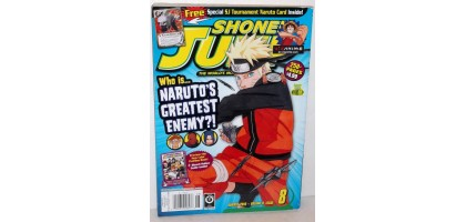 Shonen Jump Narutos greatest enemy August 2010 Volume 8 Issue 8