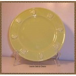 Country Gate by Enesco Green Chartreuse Salad Plate New
