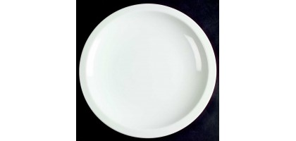 Culinary Arts Cafeware White Dinner Plate