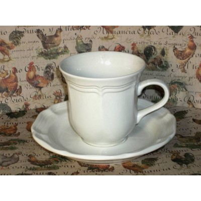 Mikasa French Countryside #F9000 Cup and Saucer Set