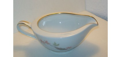 Noritake Nippon Toki Kaisha Porcelain with gold trim creamer Japan - NICE!