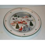SANGO China Silent Night Salad Plate