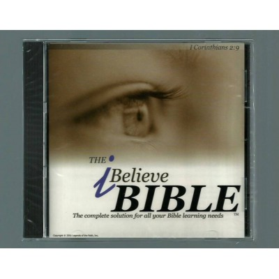 The I Believe Bible on CD Study Version Bible Software Edition
