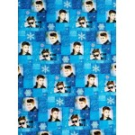 Justin Bieber Holiday Extra wide Gift wrapping paper Measures 60 sq ft Made in the USA!