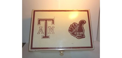 Texas A & M University Jewelry Box Large Gigem Aggies Team School Sports NCAA