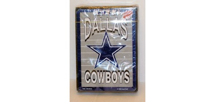 Deck NFL Dallas COWBOYS playing cards New in Box NFC Official Licensed