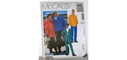 McCalls Pattern  9082 Womens and Mens Polar Wear Size Tall  C
