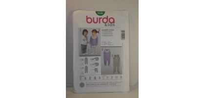 Burda Kids Pattern 9540 Kombination 4