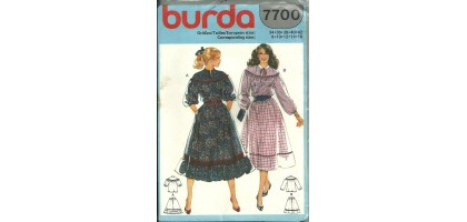 Burda Pattern 7700 Style Suits  Jackets  Skirts  Dresses Pattern