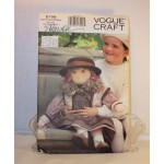 "8798 UNCUT VOGUE DOLL MAKING Pattern for a 27"" DOLL LINDA CARR DESIGNED"