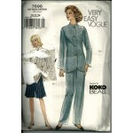 Vogue Very easy Vogue Suit and skirt suit 7696
