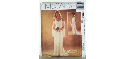 McCalls Pattern 3944 wedding gown Alicyn exclusive