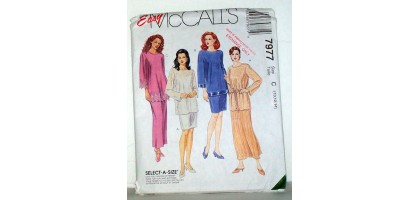 McCalls Pattern 7977 Camisole pull on shirts Size Tall  C