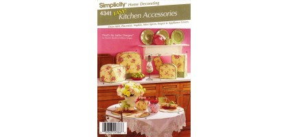 Simplicity 4341 Easy Kitchen Accessories