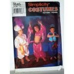 Simplicity 8645 Childrens Costumes