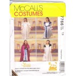 McCalls Pattern P244 Girls Swan Princess Costume sizes 7 and 8