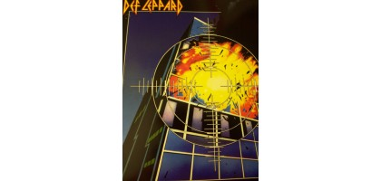 Def Leppard 2 Pocket 3 hole punched  Folder New ~ Pyromania  New