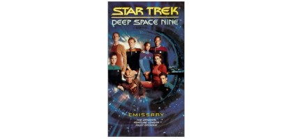 Star Trek: Deep Space Nine - Ep. 1 & 2 (VHS, 1996) The Emissary